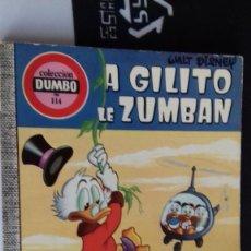 Tebeos: COMIC DUMBO ERSA 114 A GILITO LE ZUMBAN MUY BUEN ESTADO. Lote 134105522