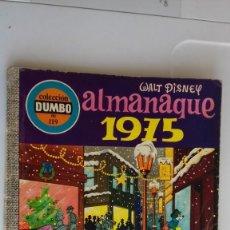 BDs: COMIC COLECCION DUMBO ERSA 119 ALMANAQUE 1975. Lote 135663211