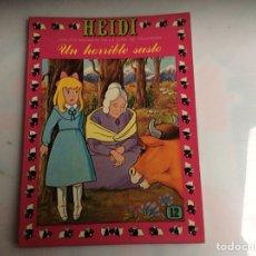 Tebeos: HEIDI Nº 12 - EDITA : EDICIONES RECREATIVAS. Lote 136609374