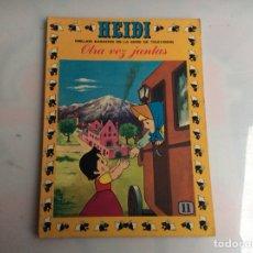 BDs: HEIDI Nº 11 - EDITA : EDICIONES RECREATIVAS. Lote 136609606