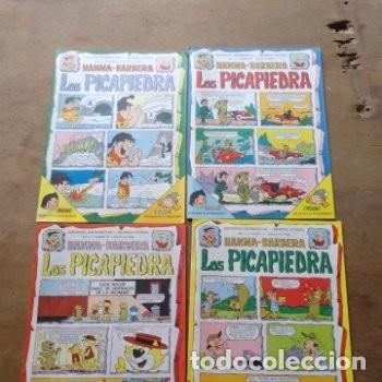 EDICIONES RECREATIVAS LOTE DE 12 EJEMPLARES AÑO 1 Y 2 LOS PICAPIEDRA HANNAH BARBERA (Tebeos y Comics - Ersa)