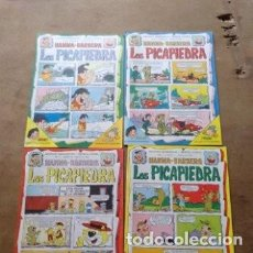 Tebeos: EDICIONES RECREATIVAS LOTE DE 12 EJEMPLARES AÑO 1 Y 2 LOS PICAPIEDRA HANNAH BARBERA. Lote 136709318
