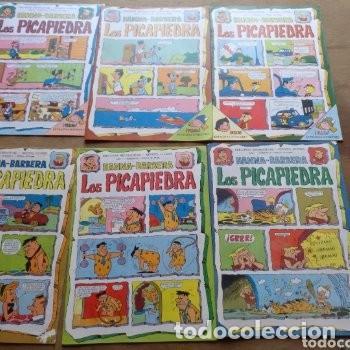 Tebeos: Ediciones Recreativas Lote de 12 ejemplares año 1 y 2 Los Picapiedra Hannah Barbera - Foto 2 - 136709318