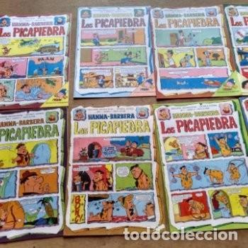 Tebeos: Ediciones Recreativas Lote de 12 ejemplares año 1 y 2 Los Picapiedra Hannah Barbera - Foto 3 - 136709318