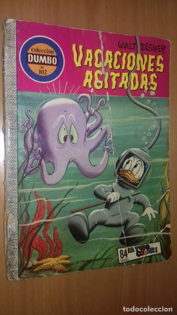 COMIC DUMBO DISNEY ERSA 102 VACACIONES AGITADAS (Tebeos y Comics - Ersa)
