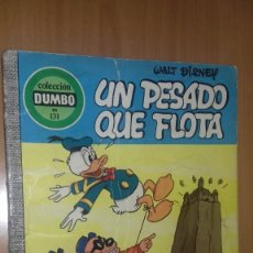 Tebeos: COMIC DUMBO DISNEY ERSA 131 UN PESADO QUE FLOTA. Lote 137821754