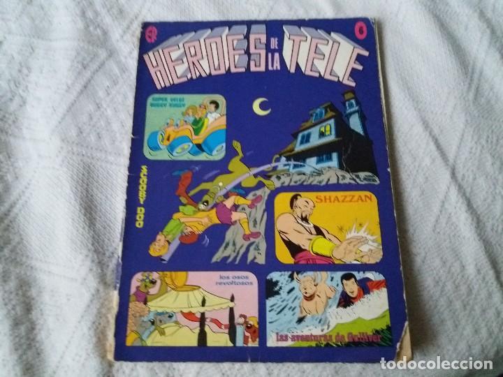 HÉROES DE LA TELE. ERSA. N° 6. 1977. SCOOBY DOO. DIFÍCIL DE CONSEGUIR. (Tebeos y Comics - Ersa)