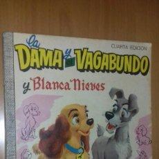 Tebeos: COMIC DUMBO DISNEY ERSA 34 LA DAMA Y EL VAGABUNDO Y BLANCANIEVES 1971. Lote 137882182
