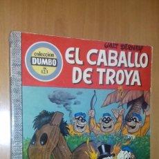 Tebeos: COMIC DUMBO DISNEY ERSA 123 EL CABALLO DE TROYA. Lote 137885806