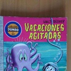 Tebeos: COMIC COLECCION DUMBO ERSA 102 VACACIONES AGITADAS MUY BUEN ESTADO. Lote 139698086