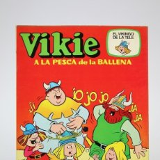 Tebeos: CÓMIC - VIKIE, A LA PESCA DE LA BALLENA Nº 4 - EDICIONES RECREATIVAS - AÑO 1975. Lote 139811389