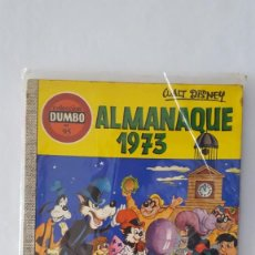 Tebeos: COMIC / ALMANAQUE 1973 DE WALT DISNEY / COLECCION DUMBO Nº 95 / 1972. Lote 140448774