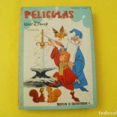 Tebeos: PELICULAS WALT DISNEY MERLIN EL ENCANTADOR JOVIAL E.R.S.A TERCER TOMO 2ª EDICION 1966. Lote 140576846