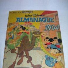 Tebeos: TEBEO WALT DISNEY COLECCIÓN DUMBO ALMANAQUE AÑO 1964 DE EDICIONES RECREATIVAS - ERSA -. Lote 142268286