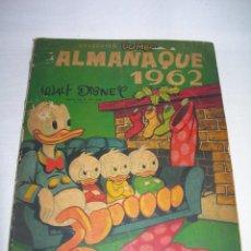 Tebeos: TEBEO WALT DISNEY COLECCIÓN DUMBO ALMANAQUE AÑO 1962 DE EDICIONES RECREATIVAS - ERSA -. Lote 142277738