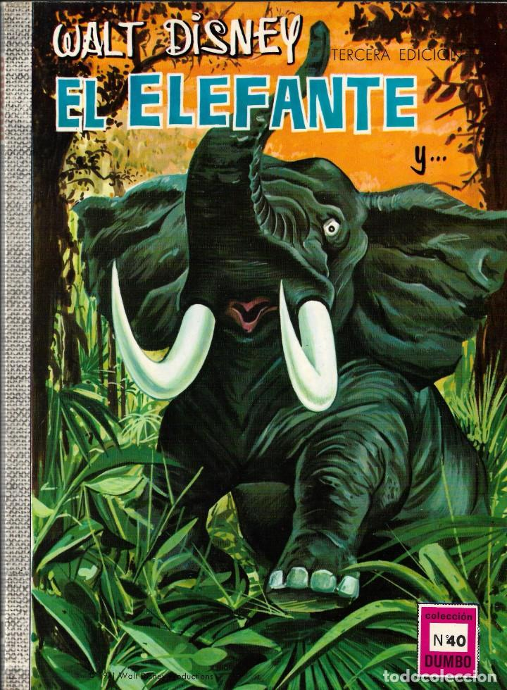 DUMBO Nº 40 - EL ELEFANTE - WALT DISNEY - ERSA - 1971. (Tebeos y Comics - Ersa)