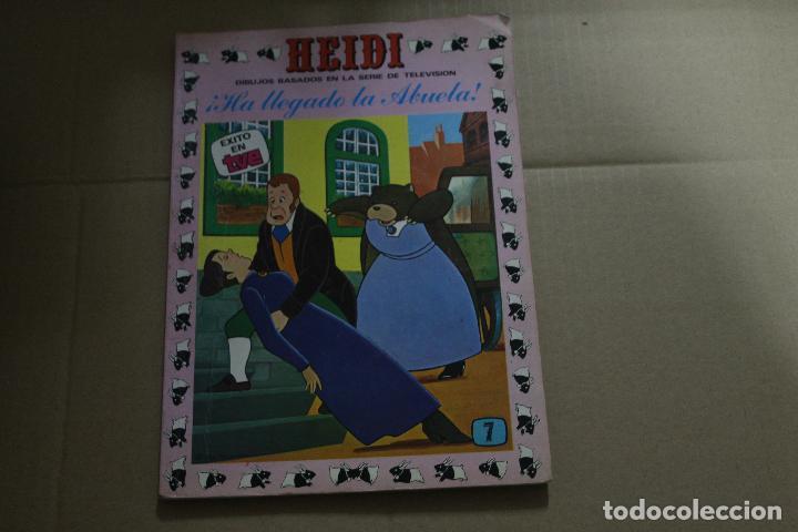 HEIDI Nº 7, EDITORIAL ERSA (Tebeos y Comics - Ersa)