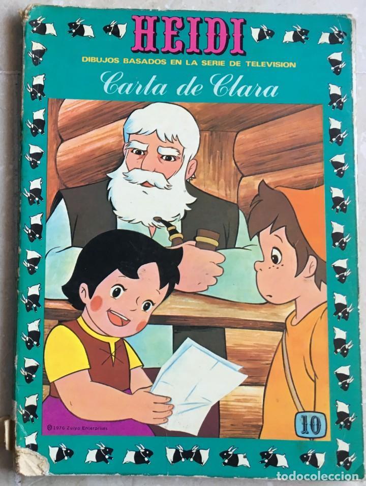 HEIDI Nº 10. CARTA DE CLARA (Tebeos y Comics - Ersa)