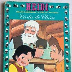 Tebeos: HEIDI Nº 10. CARTA DE CLARA. Lote 145148042