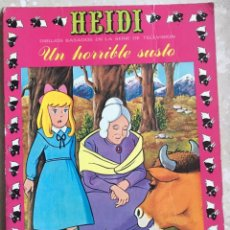 Tebeos: HEIDI Nº 12. UN HORRIBLE SUSTO. Lote 145148806