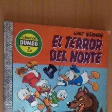 Tebeos: COMIC DUMBO ERSA 120 EL TERROR DEL NORTE BUEN ESTADO. Lote 145905606