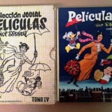 Tebeos: WALT DISNEY,COLECCIÓN JOVIAL N°IV,1974. Lote 146556670