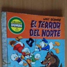 Tebeos: DUMBO 120 EL TERROR DEL NORTE COMIC ERSA. Lote 57653706