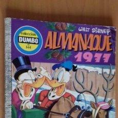 Tebeos: DUMBO Nº 144 ALMANAQUE 1977 ERSA COMIC WALT DISNEY. Lote 26903127
