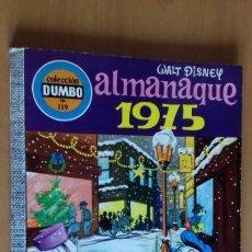 Tebeos: COMIC DUMBO ERSA 119 ALMANAQUE 1975 MUY BUEN ESTADO. Lote 147694714