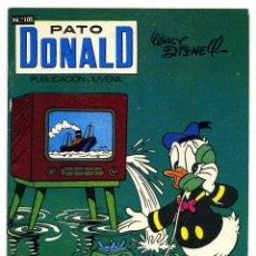 Tebeos: PATO DONALD Nº 105 - ERSA - 1970. Lote 147869966