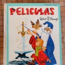 Tebeos: PELICULAS WALT DISNEY. TERCER TOMO. (III). COLECCION JOVIAL. ERSA 1978. Lote 148077090