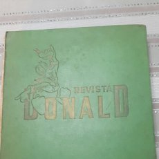 Giornalini: TOMO REVISTA DONALD NS 1 AL 37 INCLUIDO ALMANAQUE 1966. Lote 148216405