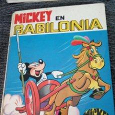 Tebeos: MICKEY EN BABILONIA.WALT DISNEY 1973.EDICIONES RECREATIVAS.COLECCIÓN JAJA Nº2. Lote 148640562