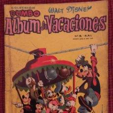 Tebeos: DUMBO ALBUM VACACIONES. Lote 149509152