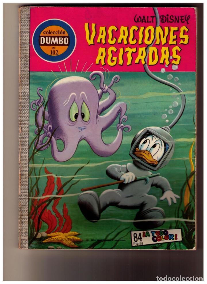 DUMBO Nº 102 VACACIONES AGITADAS - WALT DISNEY - ERSA (Tebeos y Comics - Ersa)