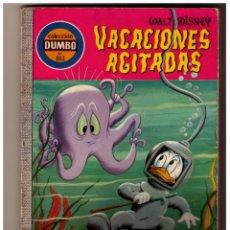 Tebeos: DUMBO Nº 102 VACACIONES AGITADAS - WALT DISNEY - ERSA. Lote 152153210