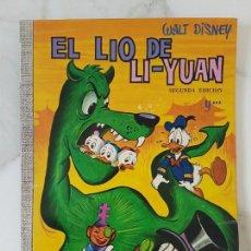 Tebeos: EL LIO DE LI-YUAN COLECCION DUMBO 39 WALT DISNEY ERSA DONALD MICKEY DON. Lote 152212070