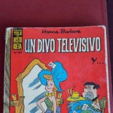 Tebeos: UN DIVO TELEVISIVO. HANNA BARBERA. NUMERO 89. COLECCION TELE-HISTORIETA. . Lote 152420810
