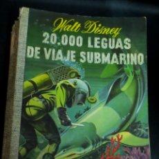 Tebeos: 20.000 LEGUAS DE VIAJE SUBMARINO WALT DISNEY COLECCIÓN DUMBO Nº 33 ERSA AÑO 1968. Lote 153063326