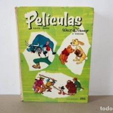 Tebeos: PELICULAS, WALT DISNEY: TOMO VI / Nº 6 - ERSA COLECCION JOVIAL, AÑO 1969. Lote 155947774