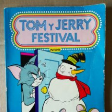 Tebeos: TOM Y JERRY FESTIVAL N°29 (EDICIONES RECREATIVAS, 1989). 64 PÁGINAS A COLOR MÁS CUBIERTAS EN RÚSTICA. Lote 156094126