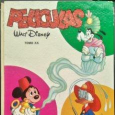 Tebeos: PELICULAS WALT DISNEY XX 20 JOVIAL EDICIONES RECREATIVAS ERSA 1ª EDICIÓN 1973. Lote 158409722