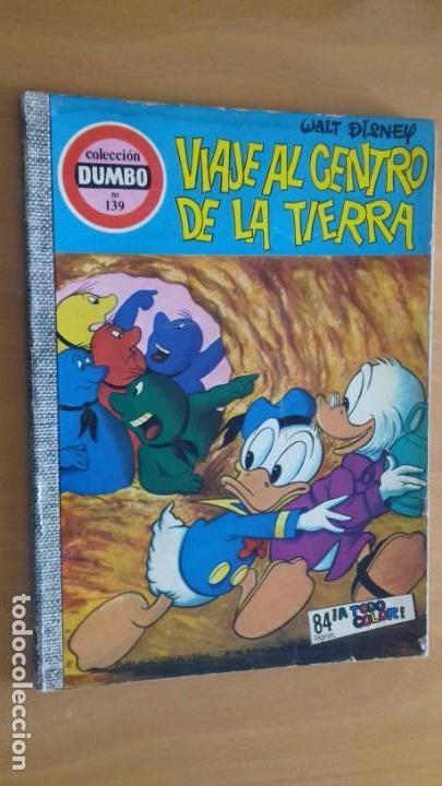 COMIC DUMBO ERSA Nº 139 VIAJE AL CENTRO DE LA TIERRA (Tebeos y Comics - Ersa)