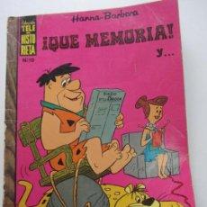 Tebeos: TELE HISTORIETA. Nº 19 - QUE MEMORIA Y ..- 1969 - HANNA-BARBERA. - LOS PICAPIEDRA CS140B. Lote 160941606