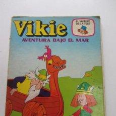 Tebeos: VIKIE EL VIKINGO DE LA TELE - Nº 3 - AVENTURA BAJO EL MAR - ERSA - 1975 - 60 PTAS. CS140B. Lote 160961166