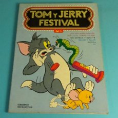 Tebeos: TOM Y JERRY FESTIVAL Nº 1. EDICIONES RECREATIVAS 1977. Lote 163974562