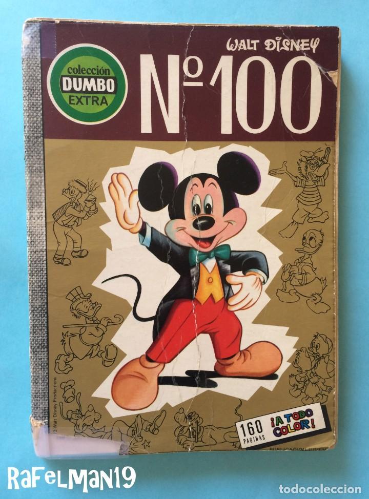 COLECCIÓN DUMBO Nº 100 - EXTRA - ERSA - WALT DISNEY - 160 PÁGINAS - 1973 - VER FOTOS (Tebeos y Comics - Ersa)