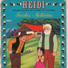 Tebeos: HEIDI. Nº 4. TRISTES NOTICIAS. EDICIONES RECREATIVAS (ERSA), 1975. (ST/A6). Lote 166548166