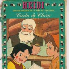 Tebeos: HEIDI. Nº 10. CARTA DE CLARA. EDICIONES RECREATIVAS (ERSA), 1975. (ST/A6). Lote 166548786