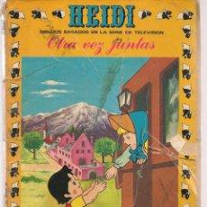 Tebeos: HEIDI. Nº 11. OTRA VEZ JUNTAS. EDICIONES RECREATIVAS (ERSA), 1975. (ST/A6). Lote 166548934